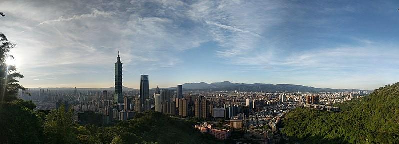 photograph of Taipei City