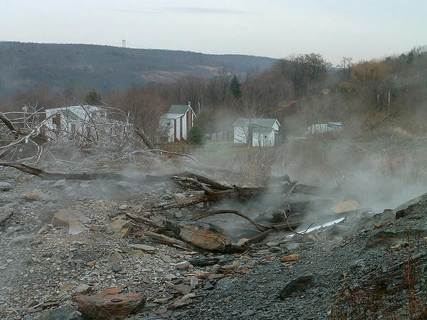Centralia, PA. Sinkholes and emissions of toxic gases