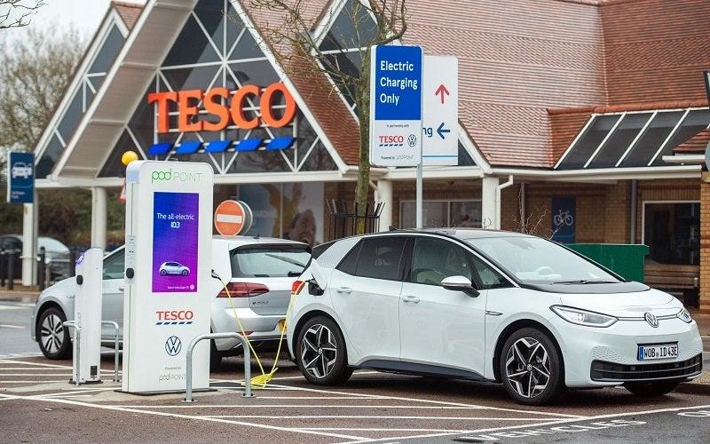 recarga coches eléctricos supermercado_portada