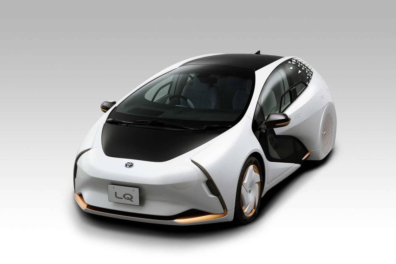 El concepto de diseño del nuevo coche con batería de estado sólido. (Toyota)
