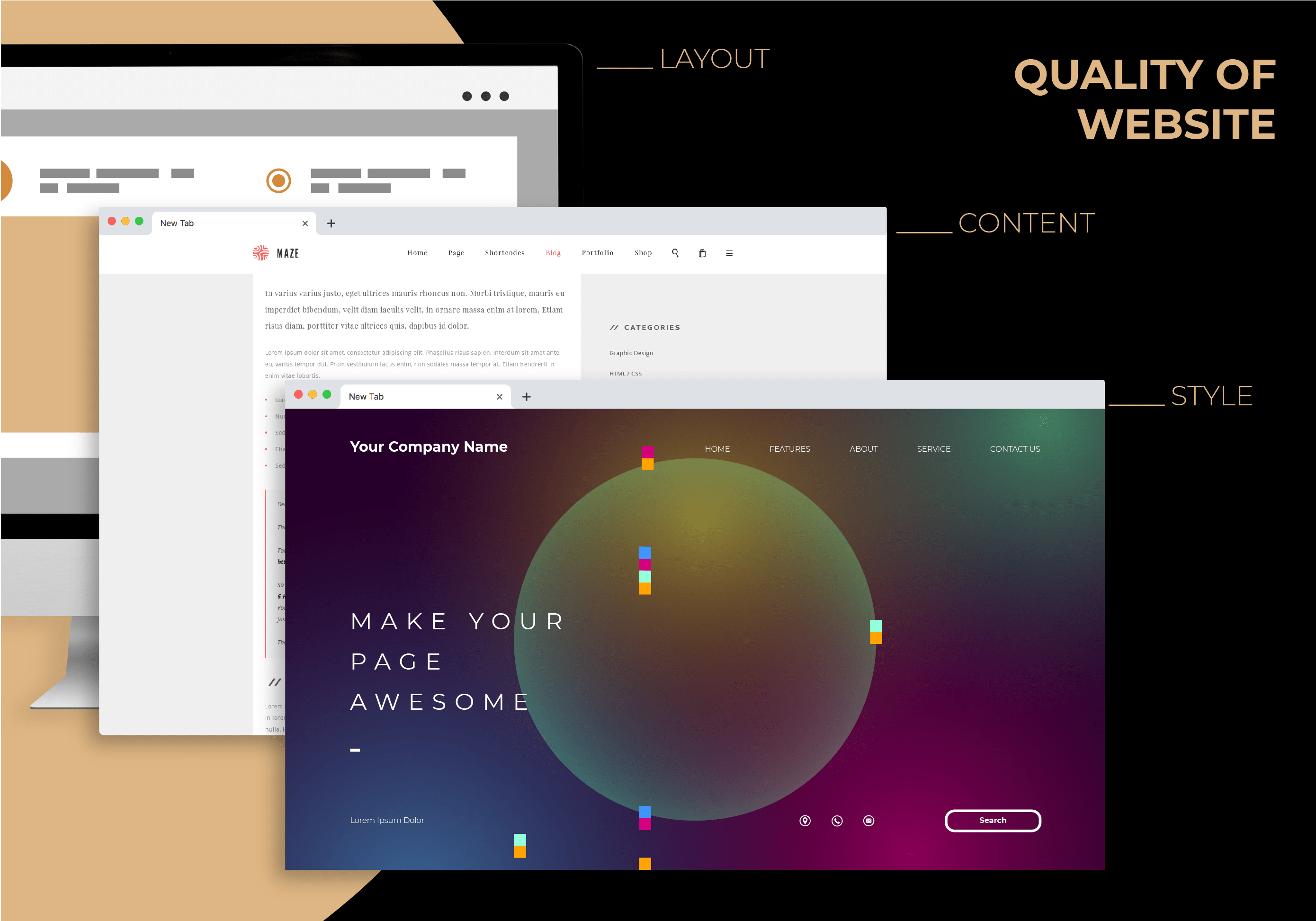 quality of website là gì