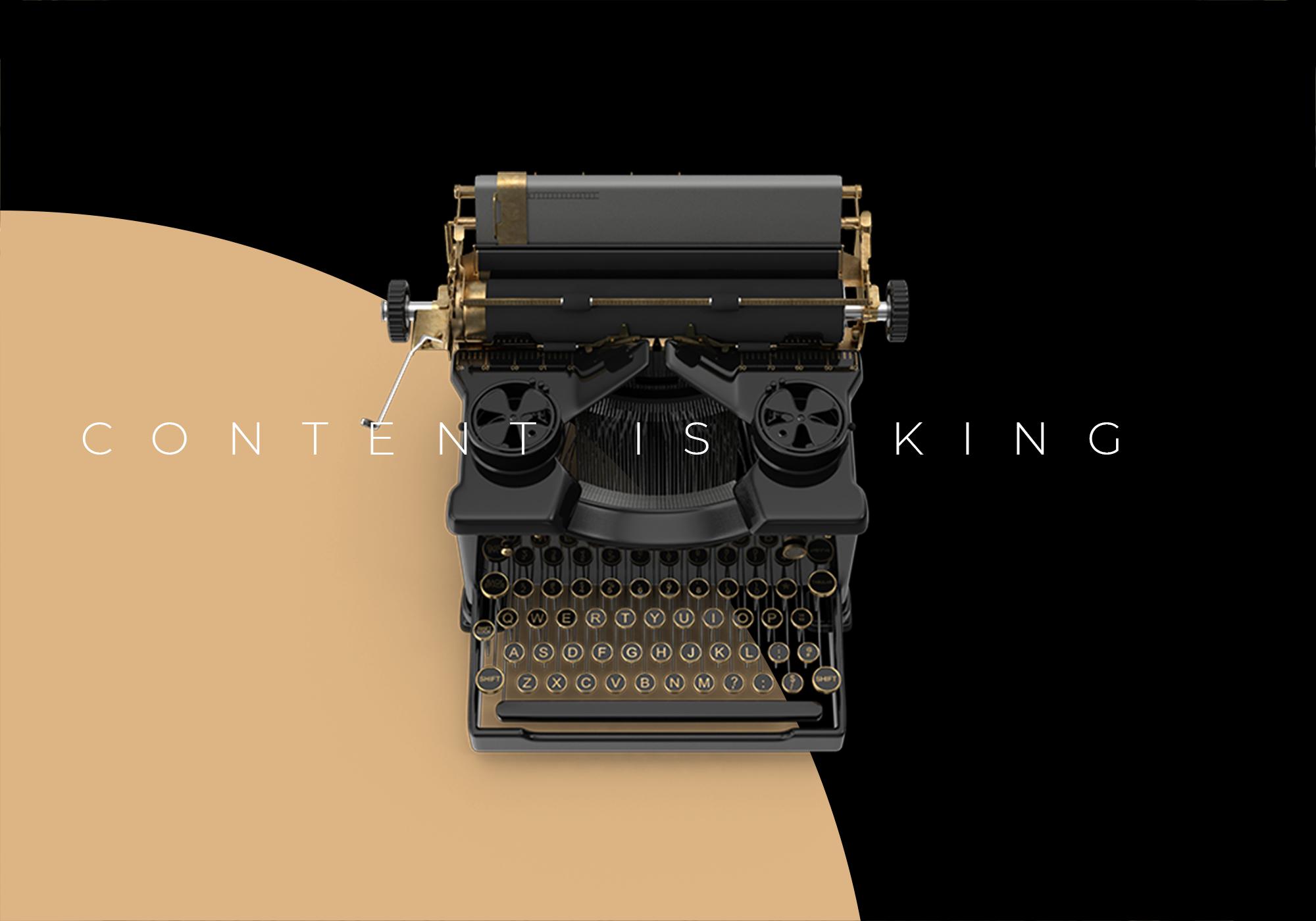 content is king website là gì