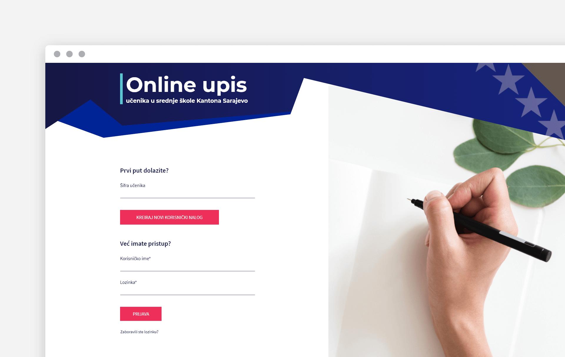 Online upis EMIS