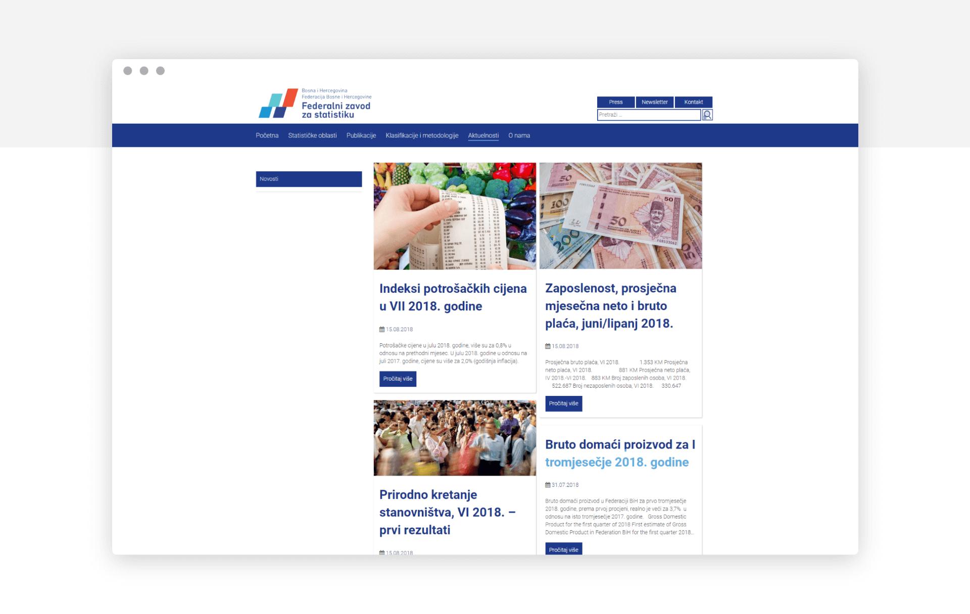 Federalni zavod za statistiku BiH