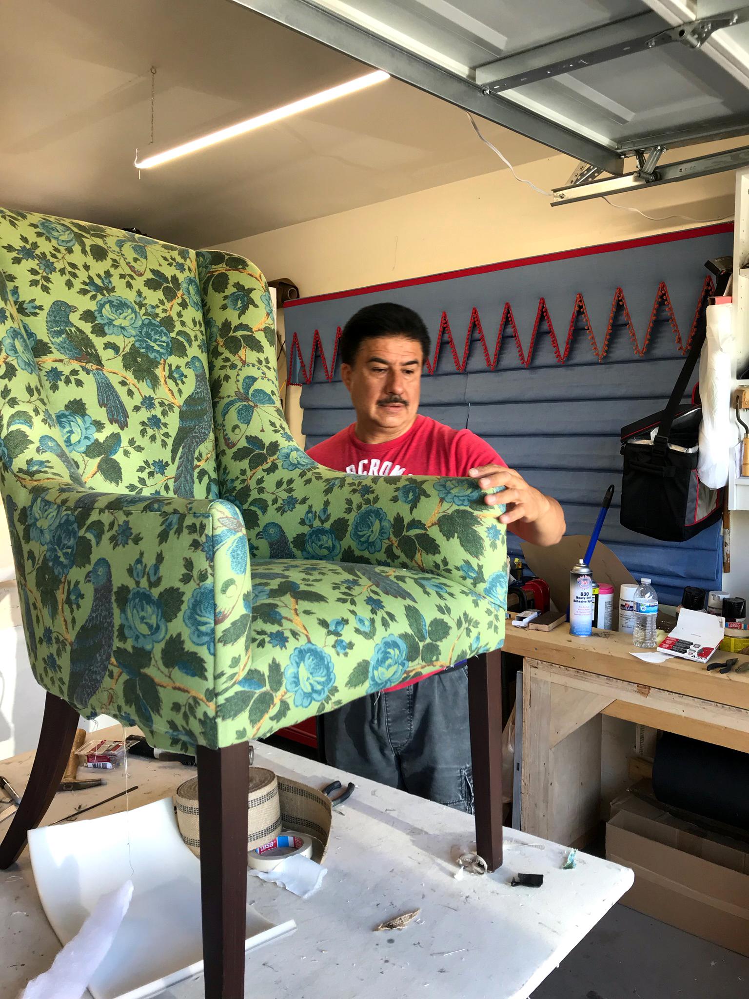 Manilla Upholstery - Tony