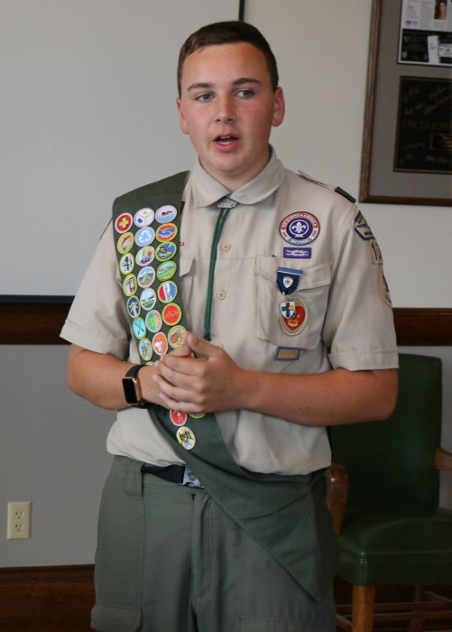 10b40497b03 Today, the Excelion Partners team unanimously chose to support Trevor  Kislewski's Eagle Scout Project. The Appleton East student's pursuit of  'doing the ...