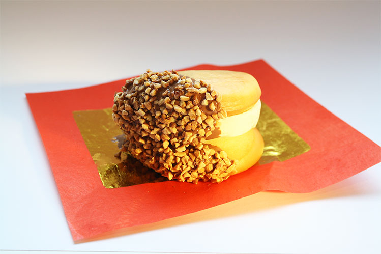 Messina's deep fried ice cream bao for Night Noodle Markets 2015