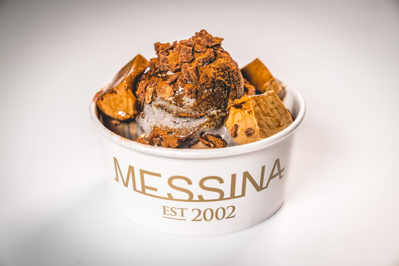 Gelato Messina's 'I Think I'm Turning Sesame', made exclusively for the Night Noodle Markets