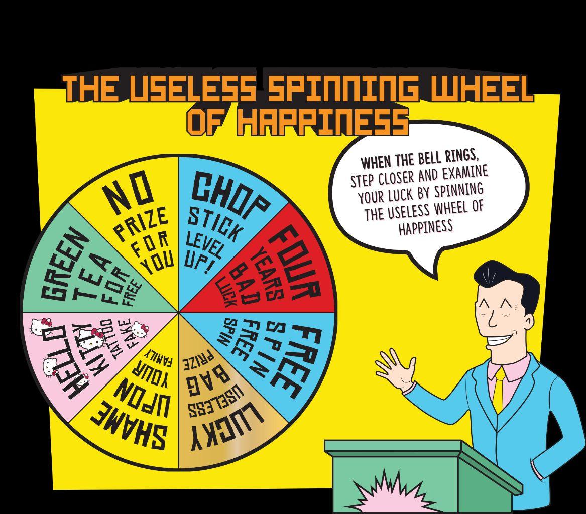 Gelato Messina's 'Useless Spinning Wheel of Happiness'
