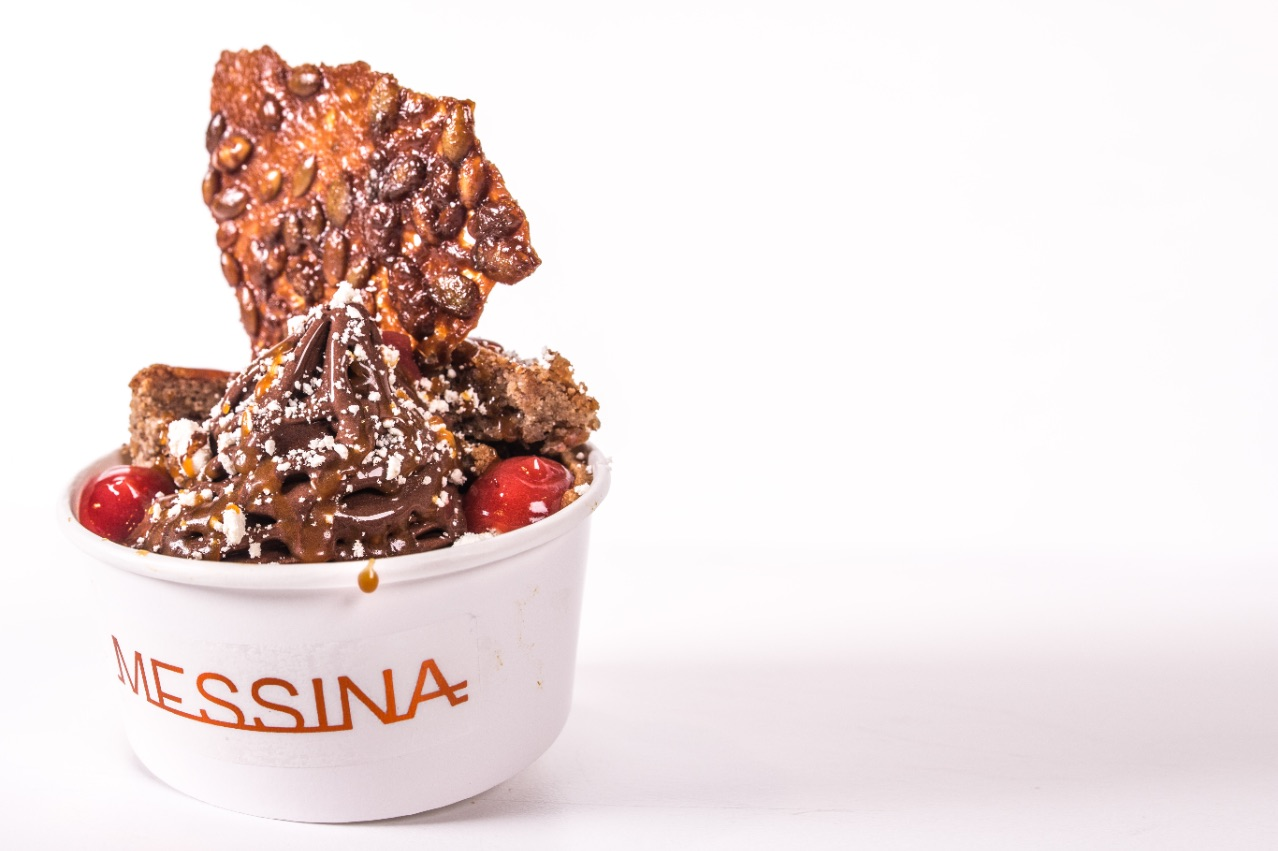 Messina Eats: Burn City Smokers - Pumpkin pie with chocolate soft serve