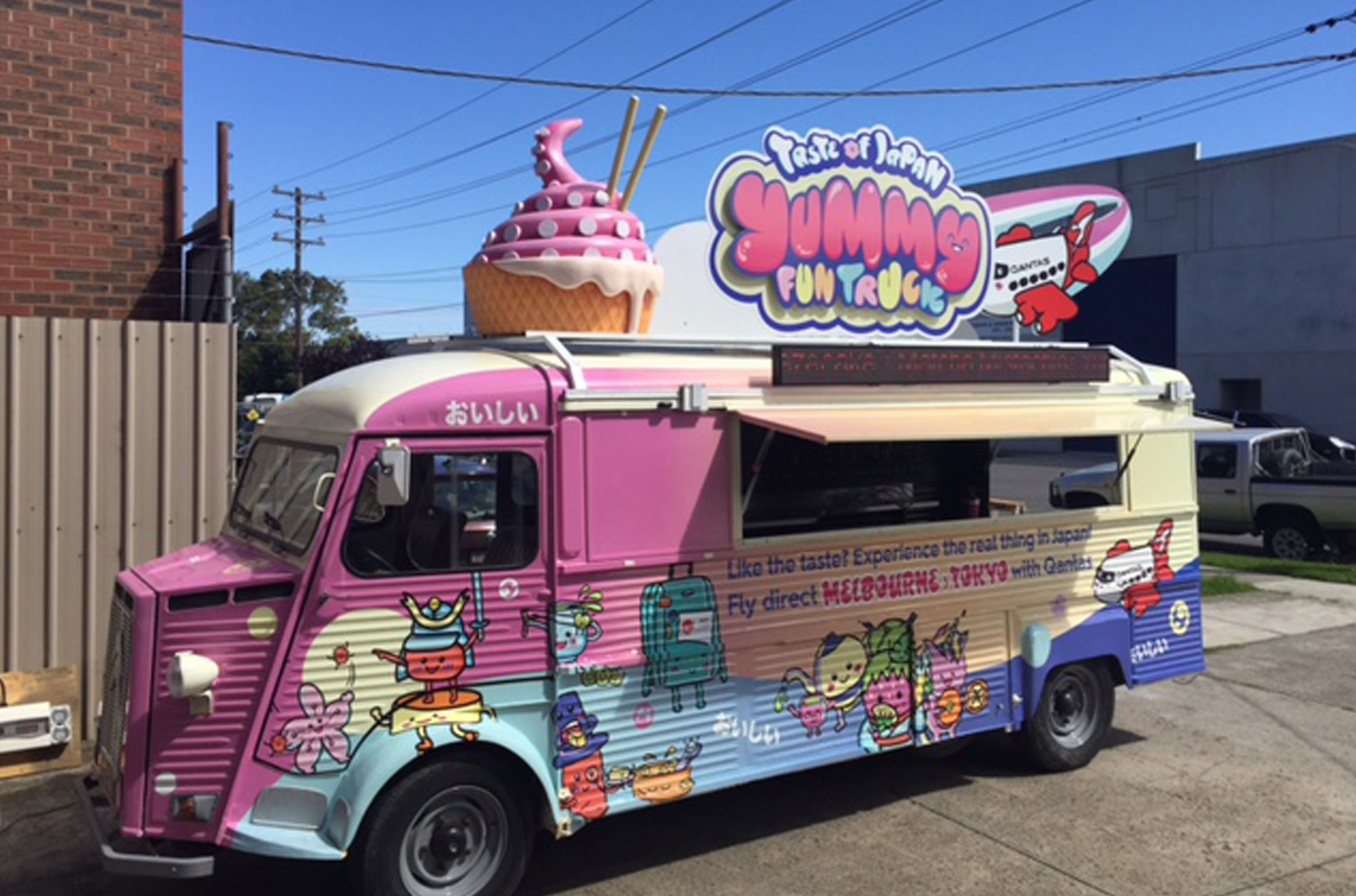 The Taste of Japan Yummy Fun Truck