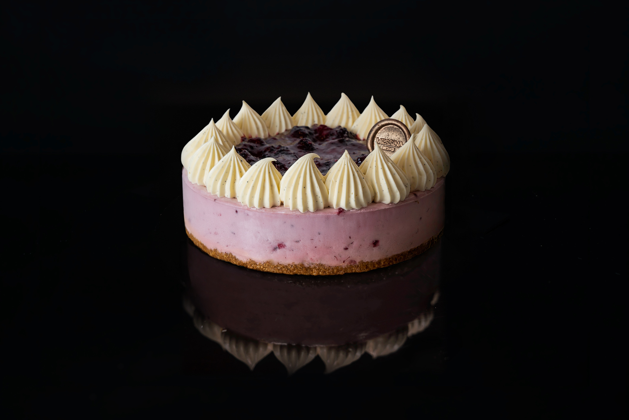 Boysenberry Cheesecake from Messina