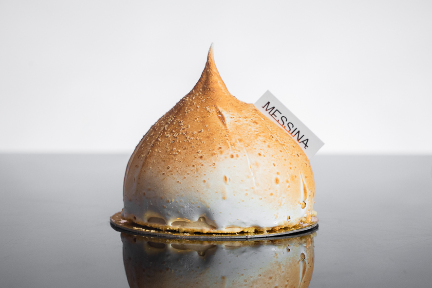 Milk Tea Bombe Alaska
