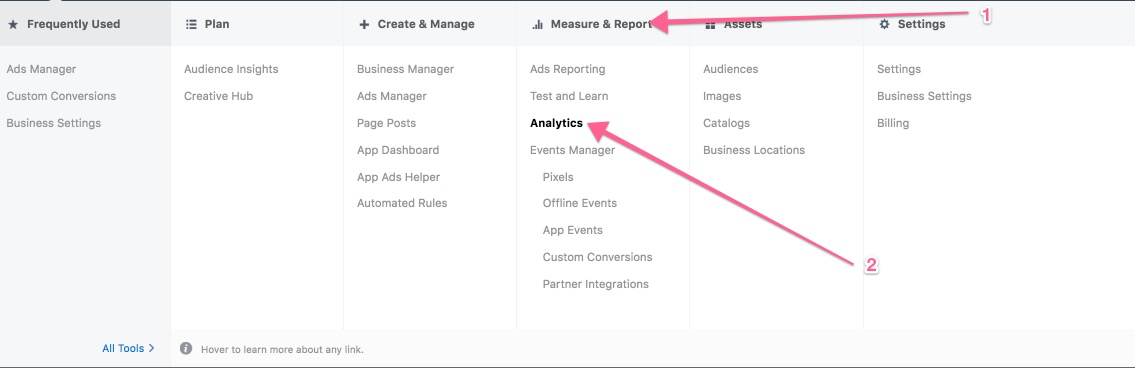 Facebook Measure Report Analytics