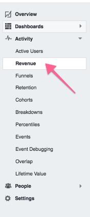Facebook Analytics Dashboard Revenue