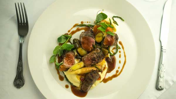 Behind the dish - Scottish Lamb
