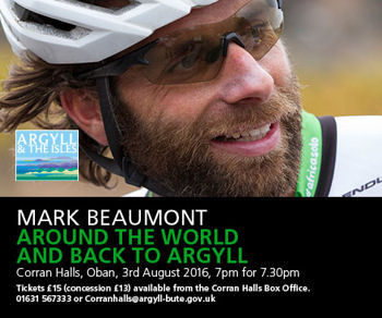 Mark Beaumont is Wild About Argyll