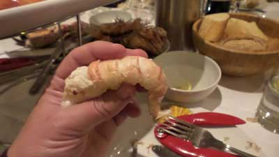 """the biggest langoustines we had ever seen"""