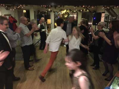 Hogmanay 2015 at The Pierhouse Hotel and Seafood Restaurant