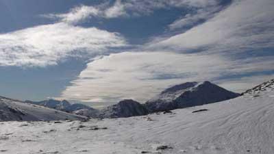 Beinn Fhionnlaidh above nearby Glen Creran