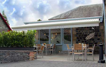 Luss Seafood Bar joins The Seafood Trail