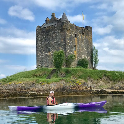 Sea Kayaking around Port Appin