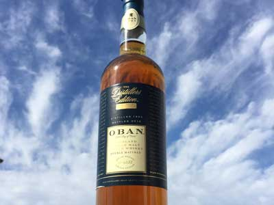 Oban - The Distillers Edition - Distilled 1999, bottled 2014. Try it in our Ferry Bar