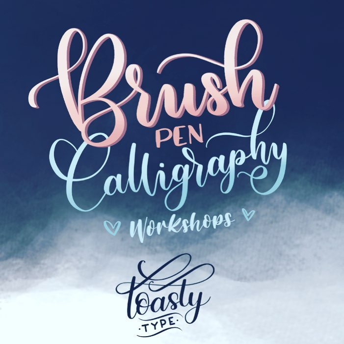 Beginners Guide to Brush Pen Calligraphy