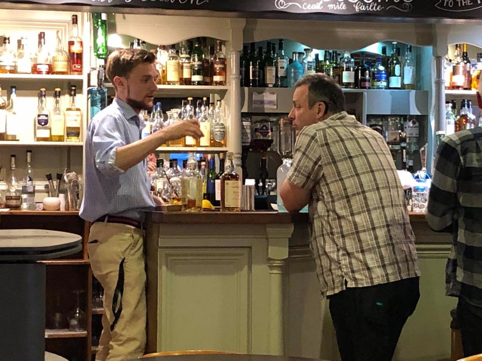 Explore the world of whisky in the company of David Johnston, resident whisky ambassador at the Pierhouse