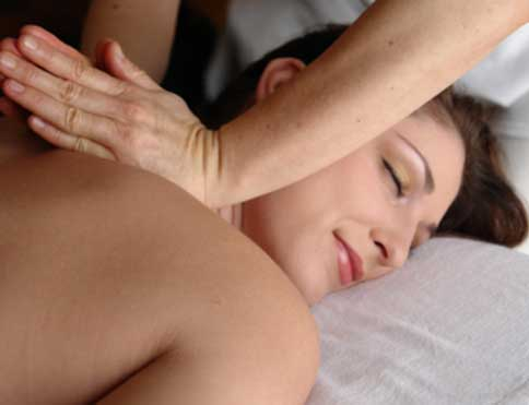 Therapeutic, aromatherapy or sports massage treatments in your own room