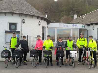 Special groups are welcome at The Pierhouse, from yachtsmen to cyclists to classic car enthusiasts