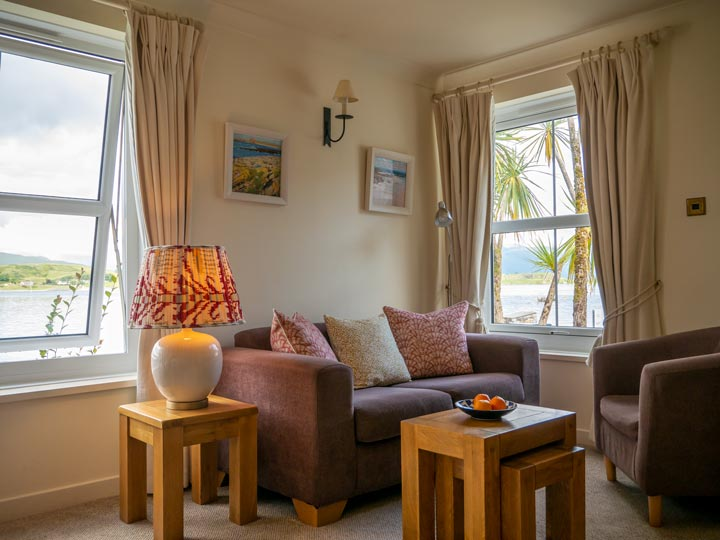 The Pierhouse Hotel: comfortable lochside rooms with a light contemporary feel