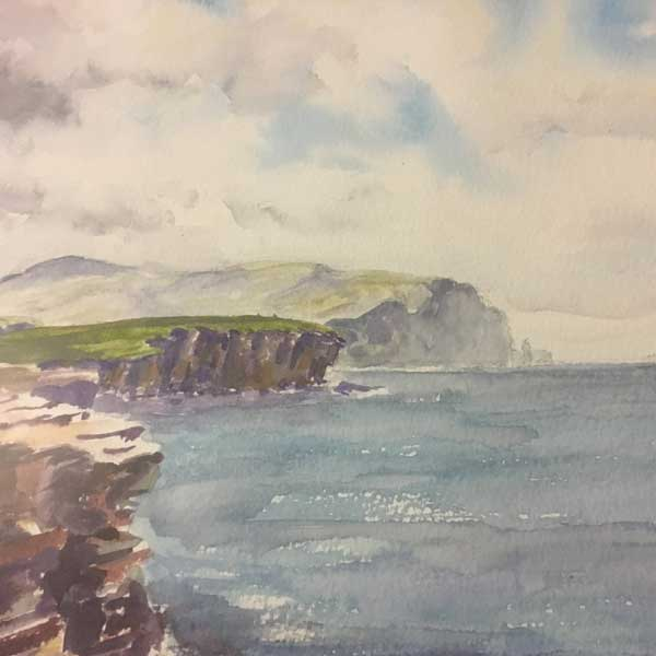 Watercolour by Andy Greatrix