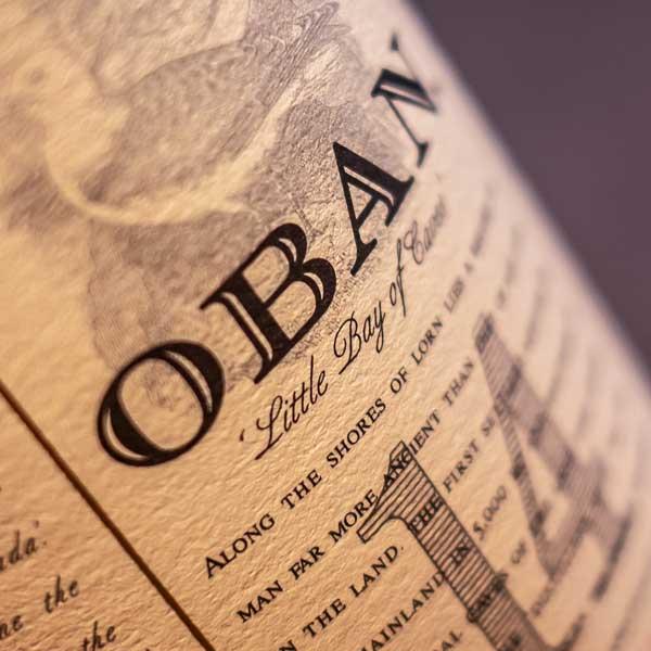 Oban Distillery - one of Scotland's oldest sources of single malt whisky