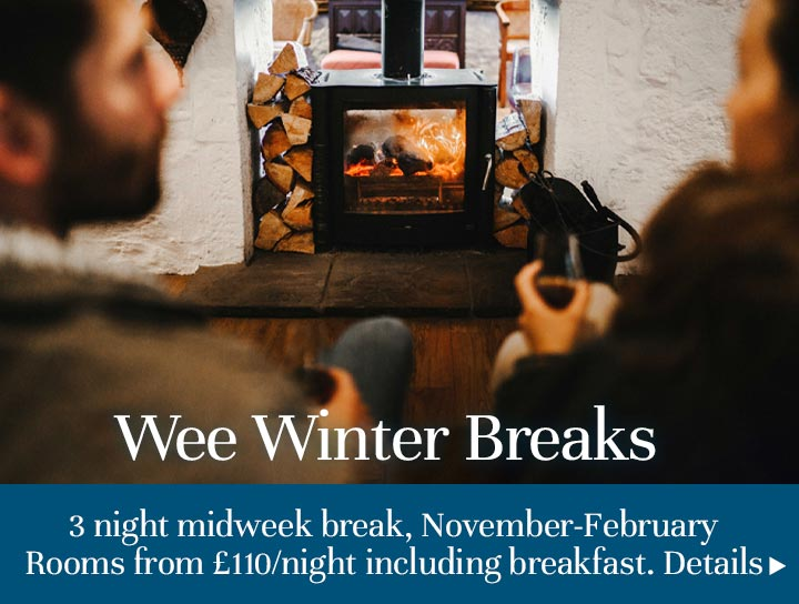 Wee winter breaks at The Pierhouse Hotel & Seafood Restaurant