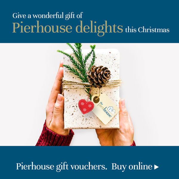 The Pierhouse Hotel & Seafood Restaurant gift vouchers - a wonderful gift this Christmas