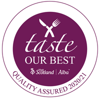 Visit Scotland Taste Our Best accredited