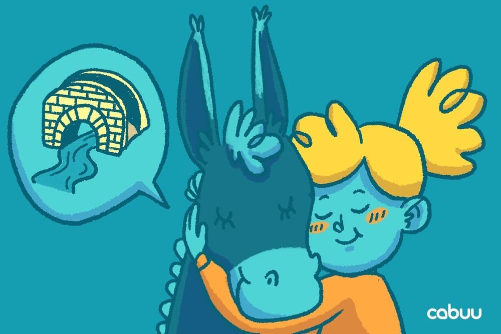 erfinde Eselsbrücken, um dir schwierige Vokabeln zu merken