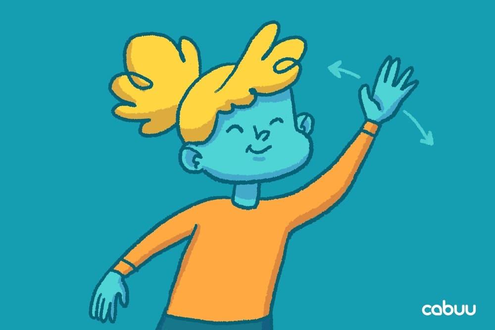 Vokabelnlernen Lernmethode mit Gesten