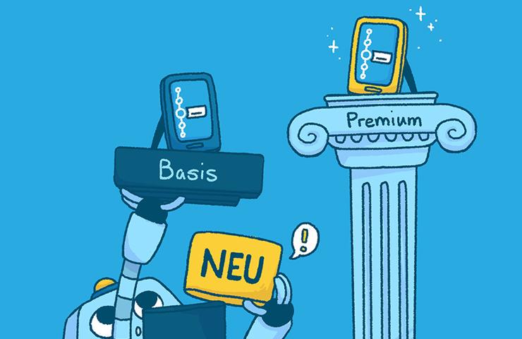 Roboter Bo fügt der Basisversion ein neues Element hinzu