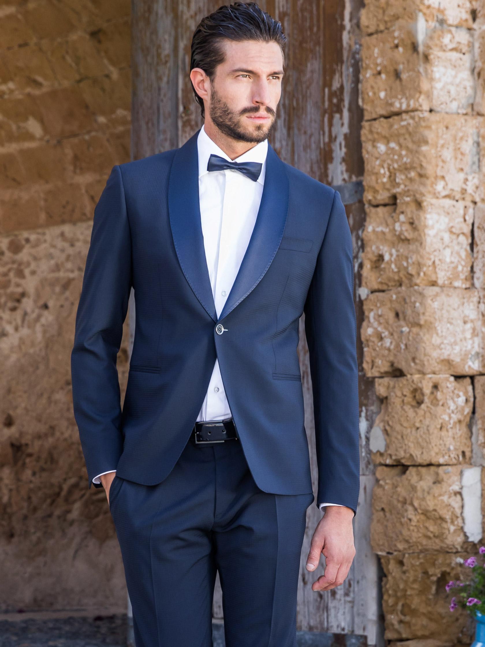 Smoking da cerimonia blu - Siciliano 2019 - Modello C35Z f45267f16c6