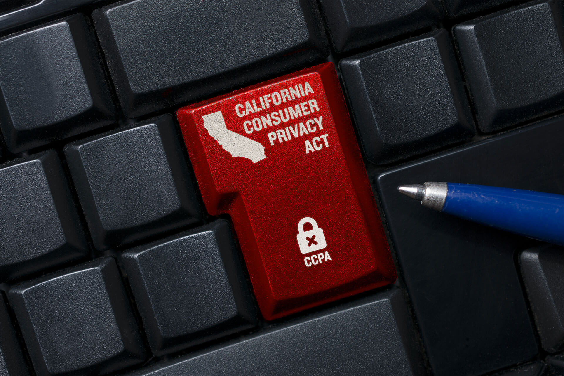 "California Consumer Privacy Act (""CCPA"") is being enforced."