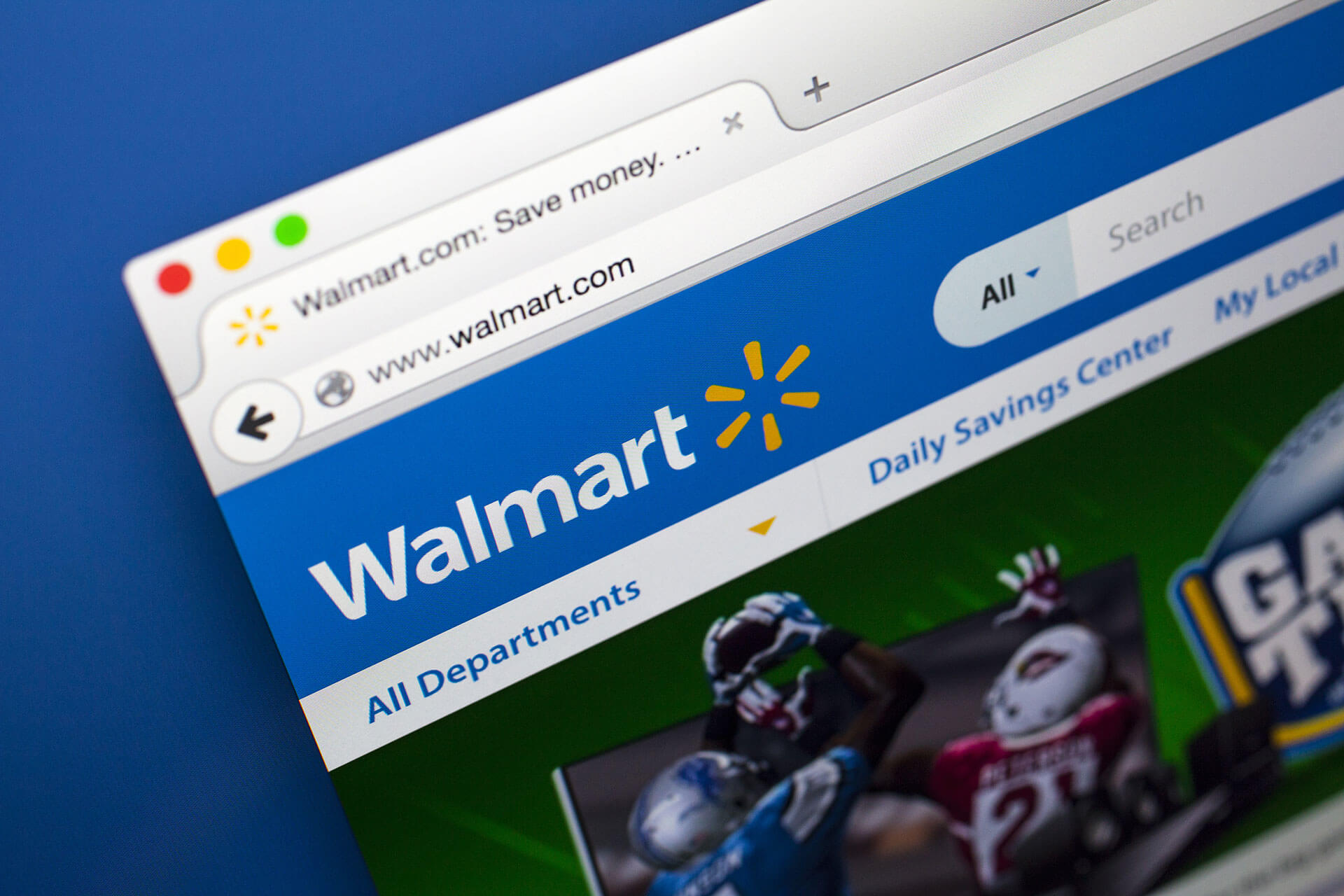 Walmart's website. They got sued for being non-compliant with CCPA.