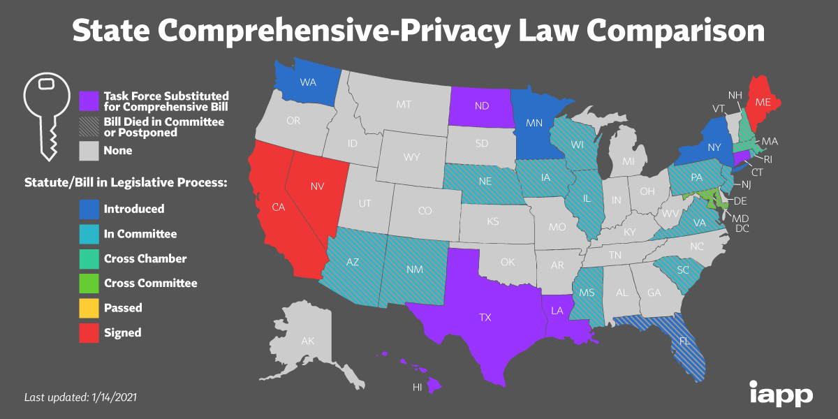 State Comprehensive Privacy Law Comparison