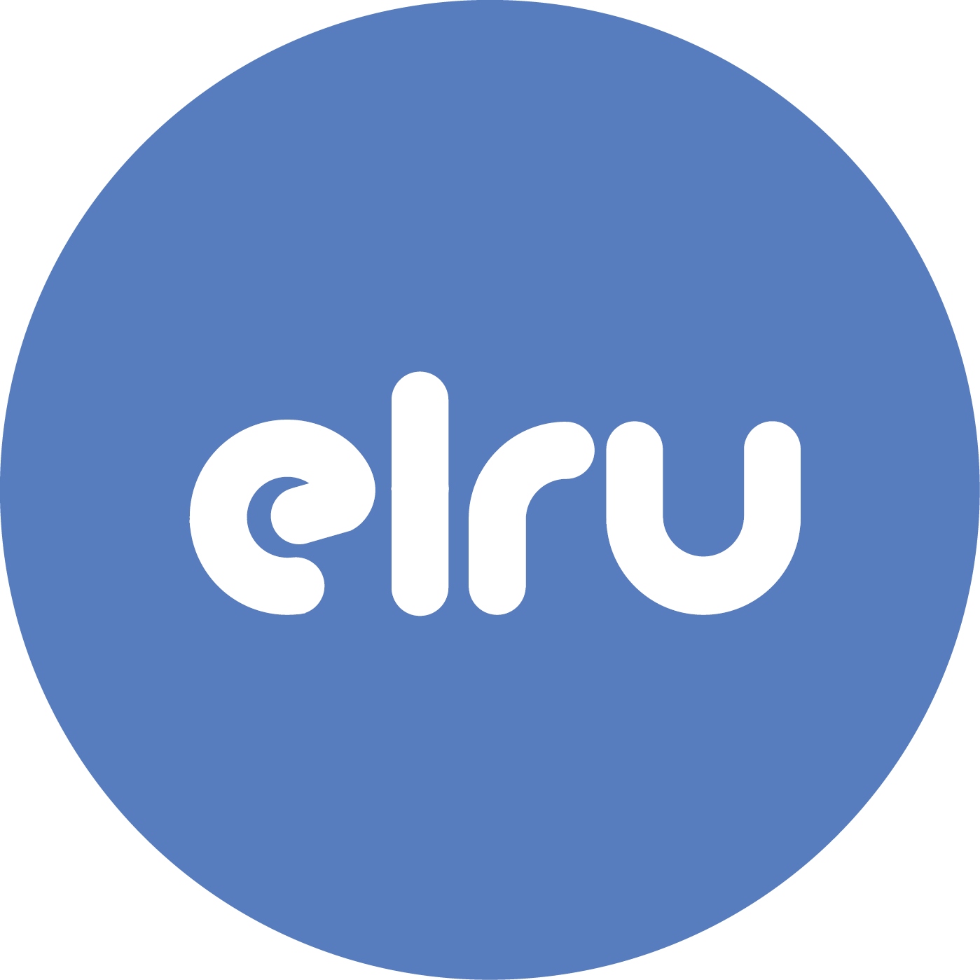 ELRU logo blue