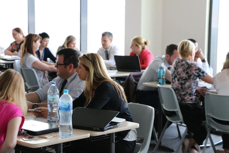 International Schools engaging in classroom INSET activities