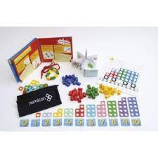 A classroom kit of numicon