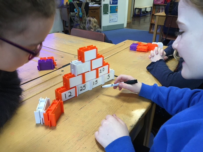 Using learning blocks to promote maths reasoning