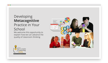 Develop metacognition with Structural Learning