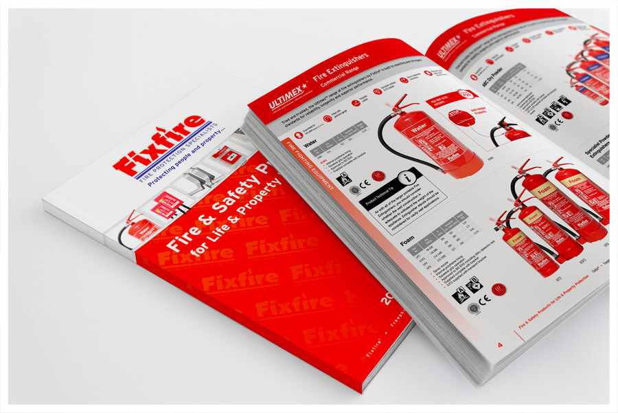 Photo of Fixfire Coventry product catalogue by Connect Creative Design in Barnsley